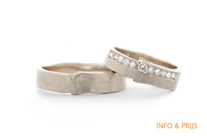 Golden wedding rings Wim Meeussen Goldsmith Antwerp