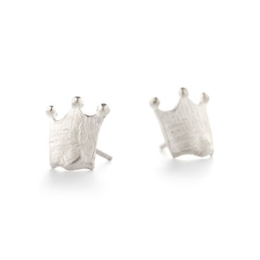 Crown earrings - Wim Meeussen Antwerp