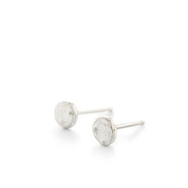 Silver small earrings