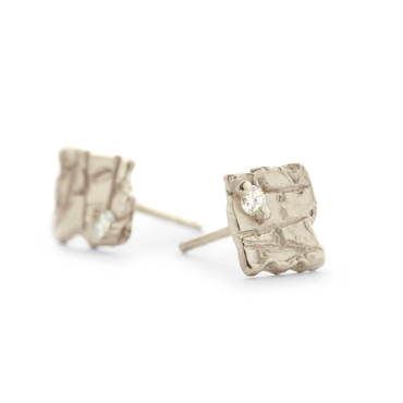 mervi stud earrings - Wim Meeussen Antwerp