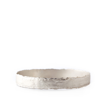 Fixed bracelet in silver - Wim Meeussen Antwerp