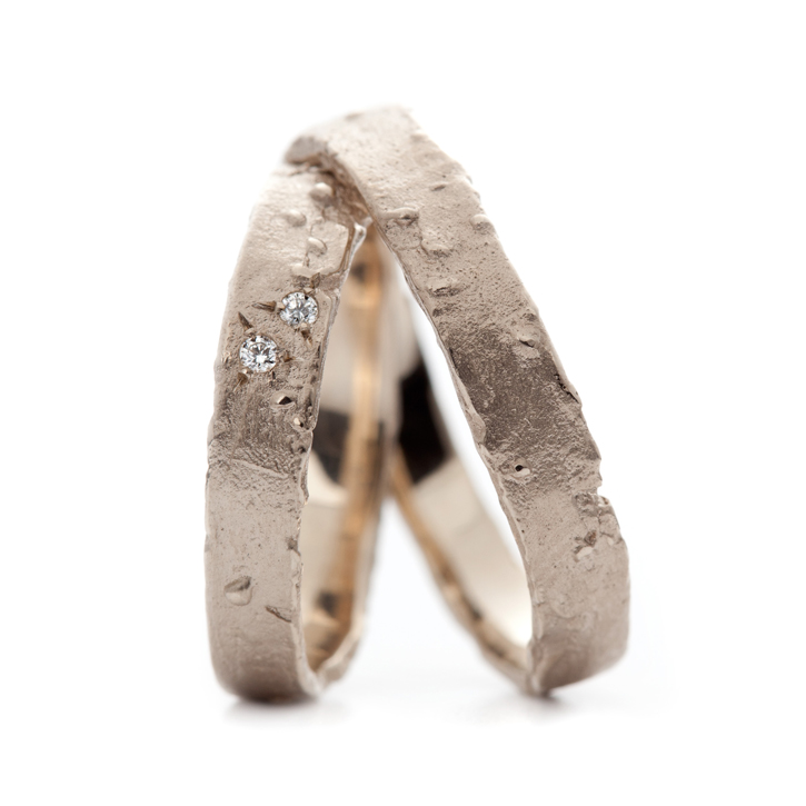 Wedding rings Wim Meeussen Goldsmith Antwerp